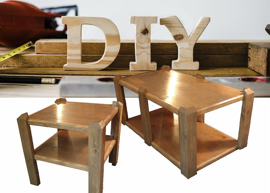 DIY antique table
