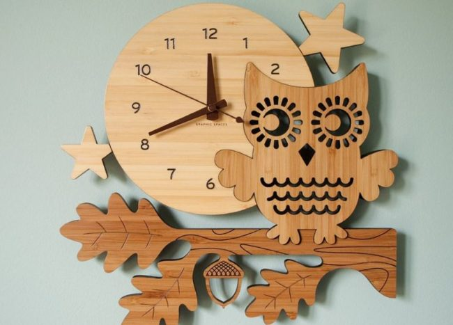 10 Owl Wall Clocks