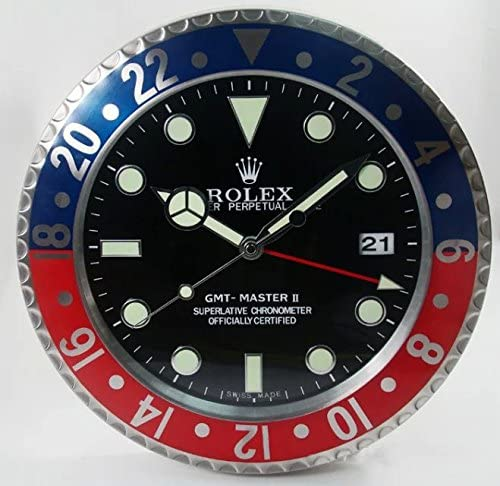 FIR rolex wall clock legendary mute strong
