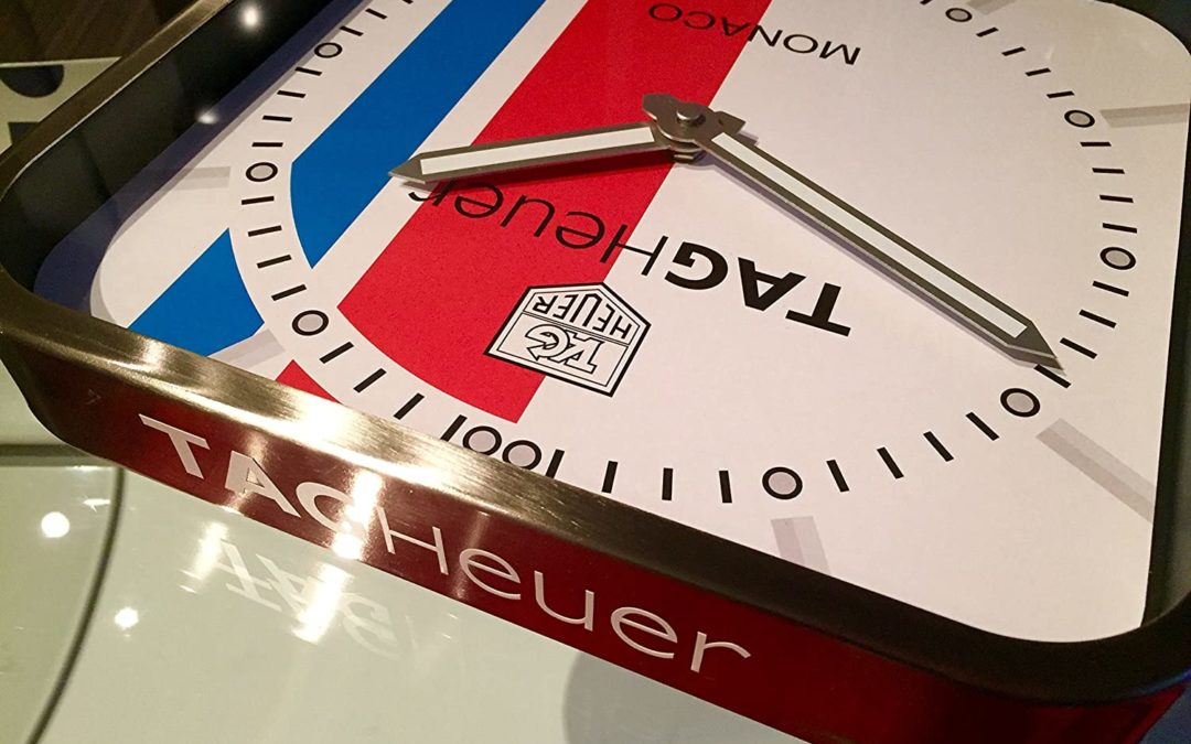 What Makes Tag Heuer Wall Clocks So Exclusive?